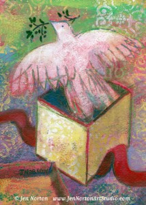 JN801 Gift of Peace © Jen Norton