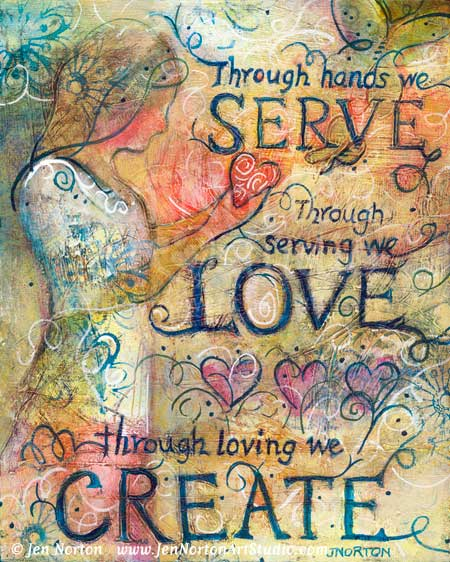 JN802_Serve, Love, Create