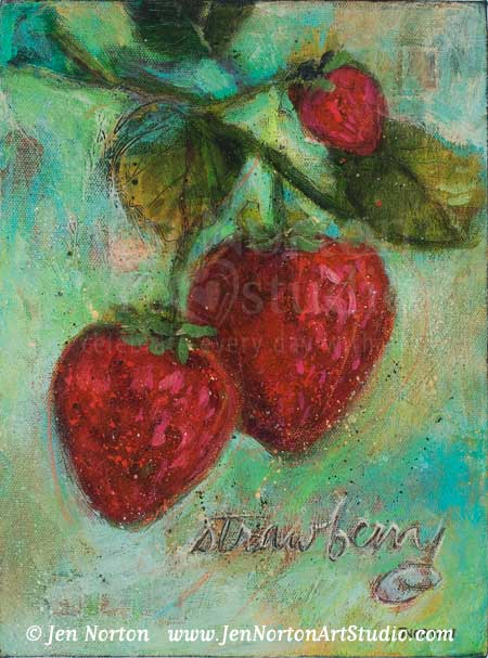 Strawberries © Jen Norton