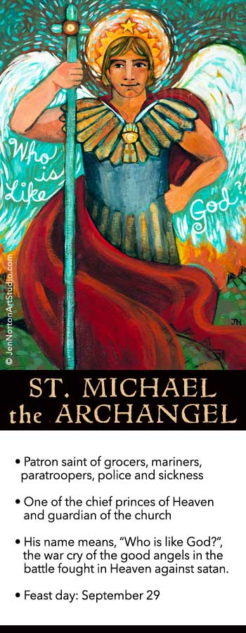 Catholic book reports on saint michael