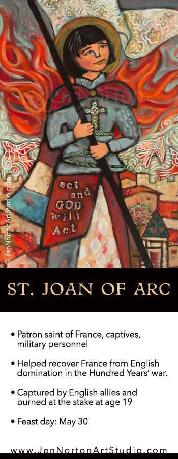 St. Joan of Arc © Jen Norton