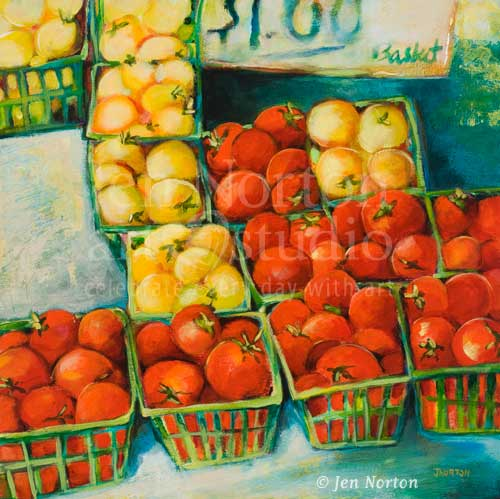 Cherry Tomatoes: $1