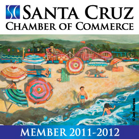 Santa Cruz Chamber of Commerce Decal 2011
