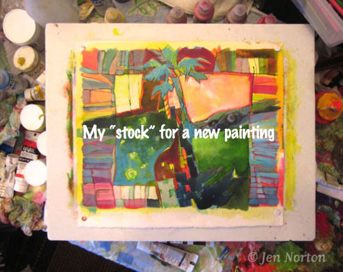 "Painting ""stock"""