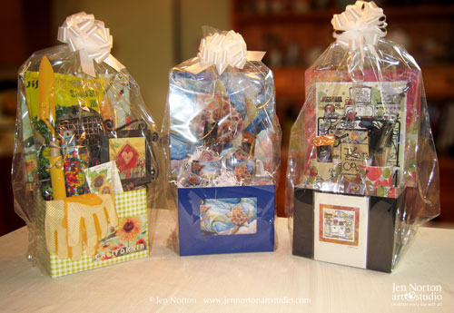 Gift Baskets by Jen Norton Art Studio