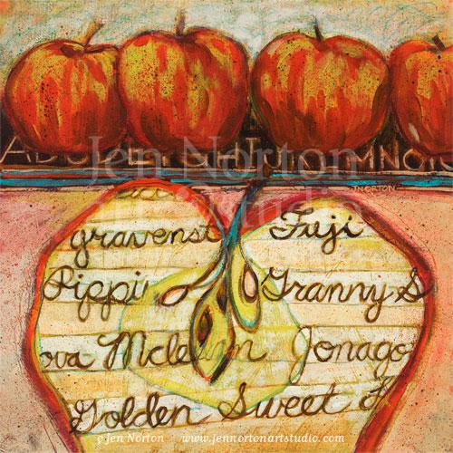 Smart Apples by Jen Norton