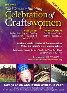 $1 off Celebration of Craftswomen