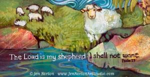 The Lord is My Shepherd © Jen Norton