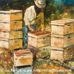 The Organization of Bees © Jen Norton