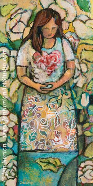"""Patience"" © Jen Norton, acrylic on canvas"