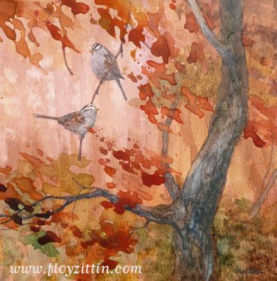 Sparrows © Floy Zittin