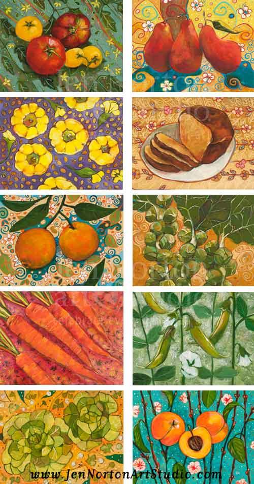 Images for Calendar Design © Jen Norton
