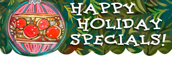 Happy Holiday Specials from Jen Norton