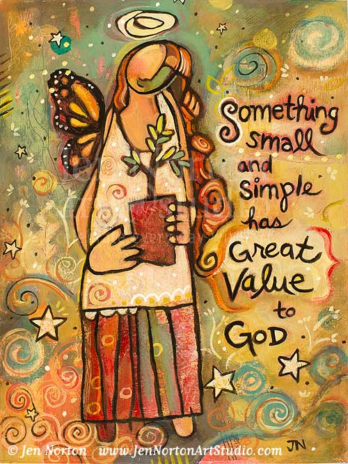 Something Small has Great Value to God
