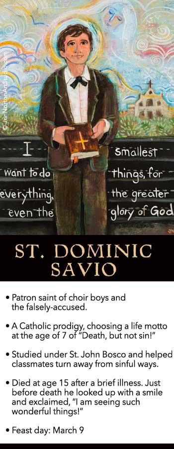 St. Dominic Savio © Jen Norton