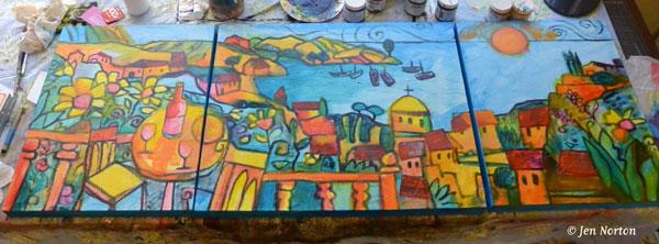 landscape-adding color