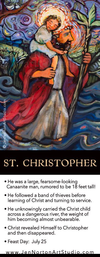 St. Christopher © Jen Norton