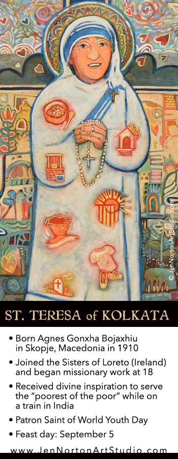St Teresa Kolkata fun facts